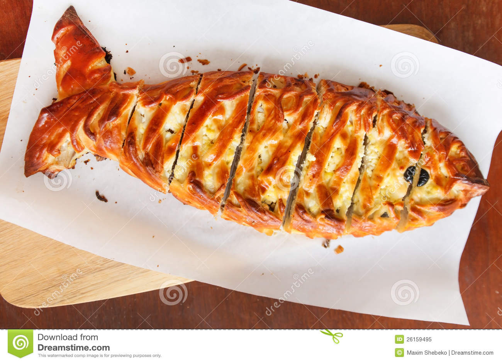 Fish Pie Royalty Free Stock Photo - Image: 26159495