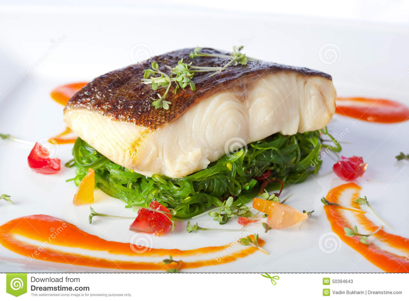 Fish stock photo image 50394643 for Piece of fish