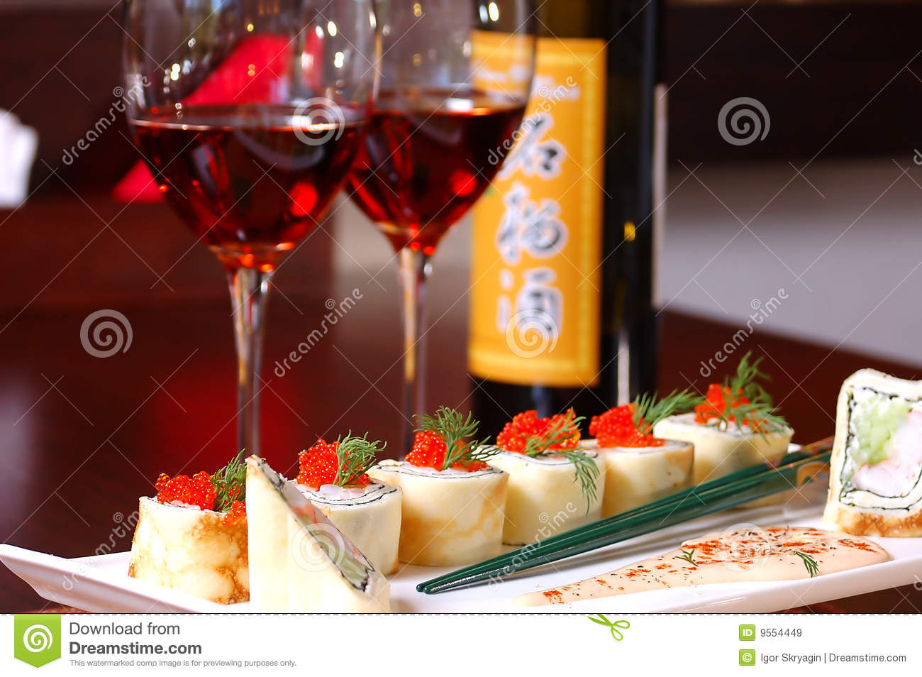 Fish with red wine royalty free stock images image 9554449 for Red wine with fish