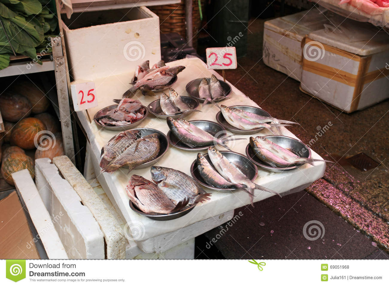Fish for sale in hong kong market editorial stock photo for Stock fish for sale