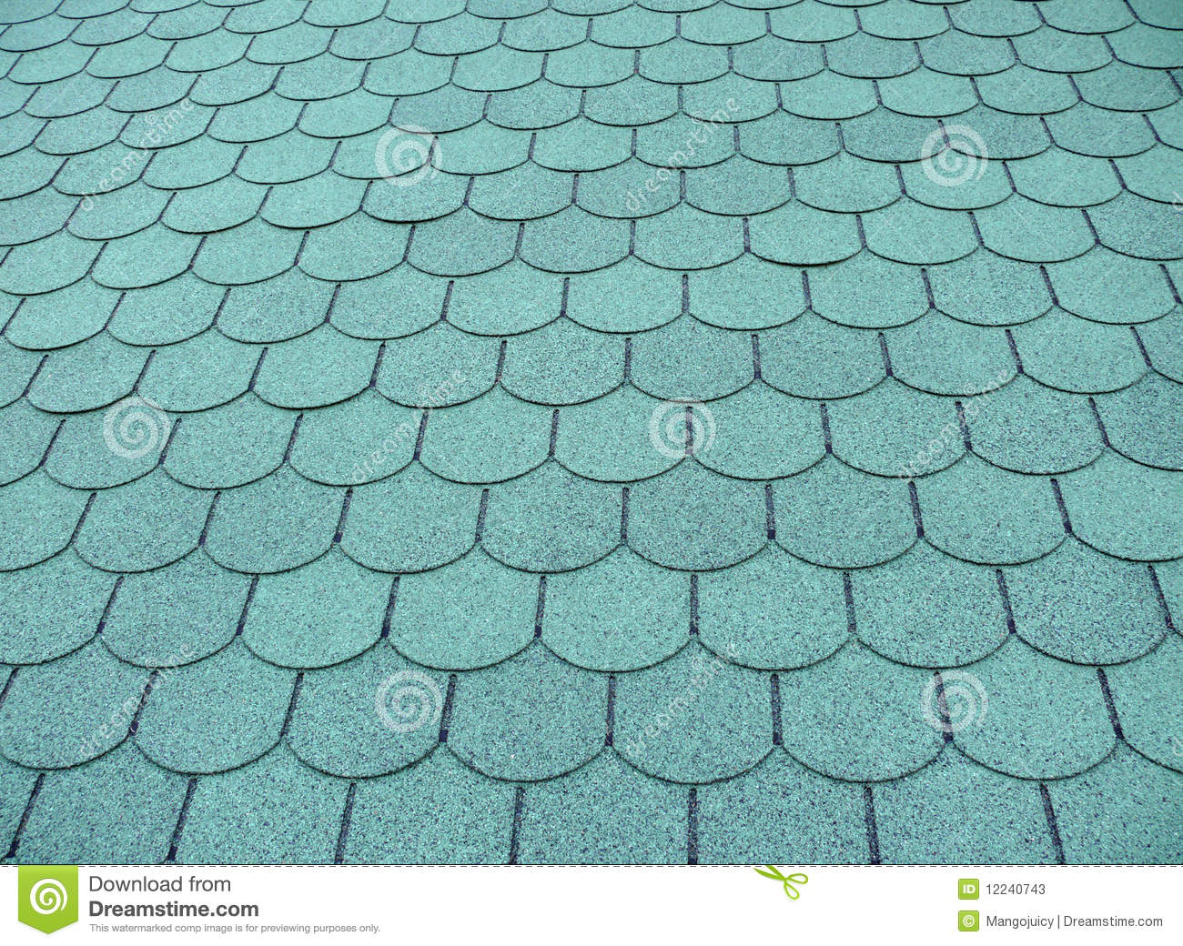 Fish Scale Roof Pattern Stock Photos Image 12240743