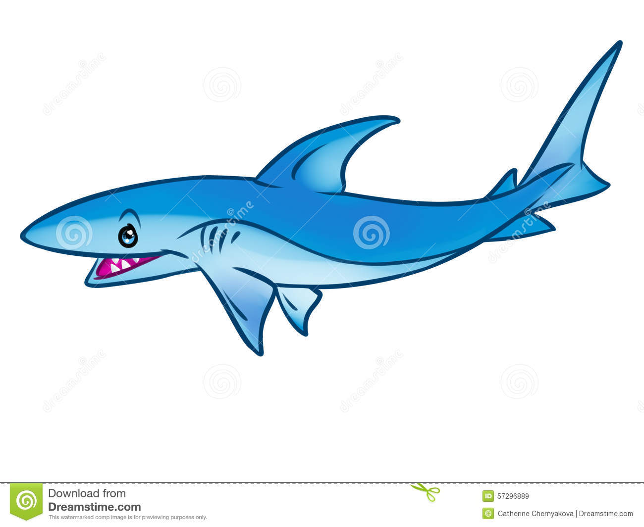 Fish shark cartoon illustration stock illustration illustration of fish shark cartoon illustration thecheapjerseys Gallery