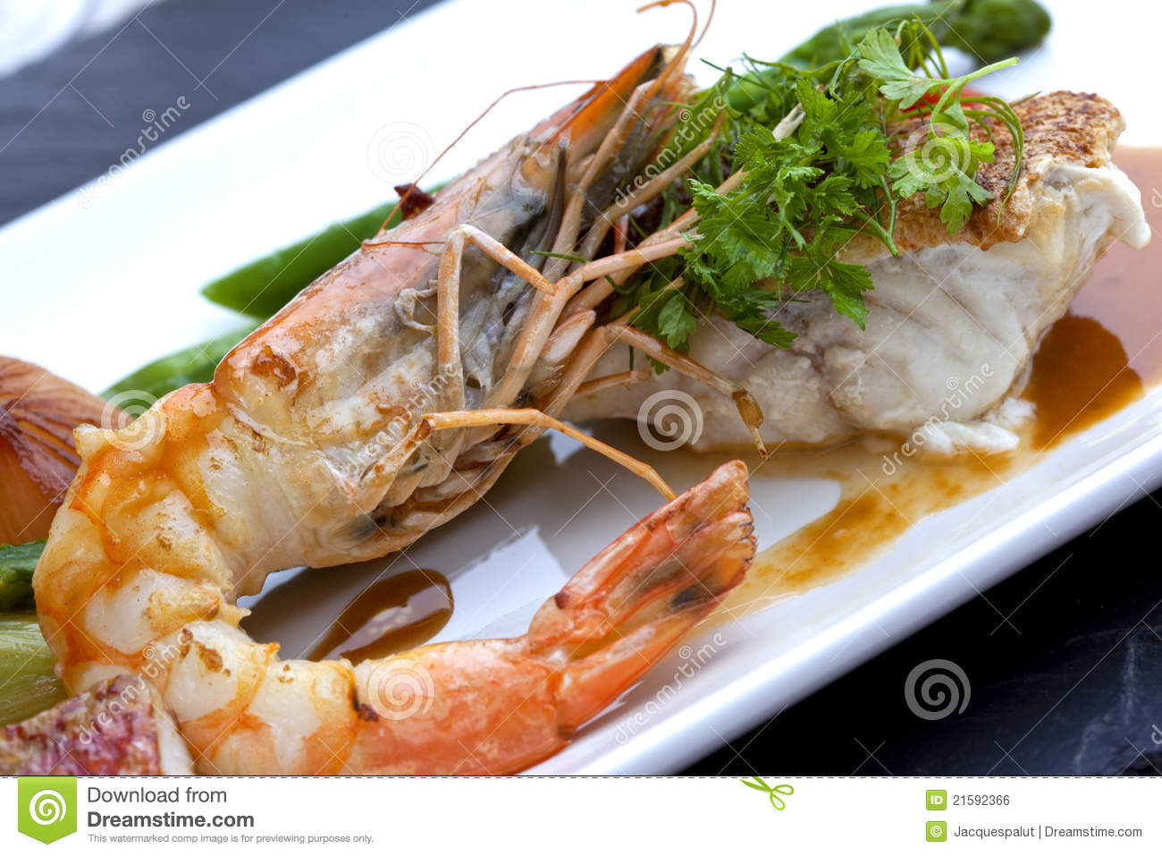 Fish and shrimp royalty free stock image image 21592366 for Fish and seafood