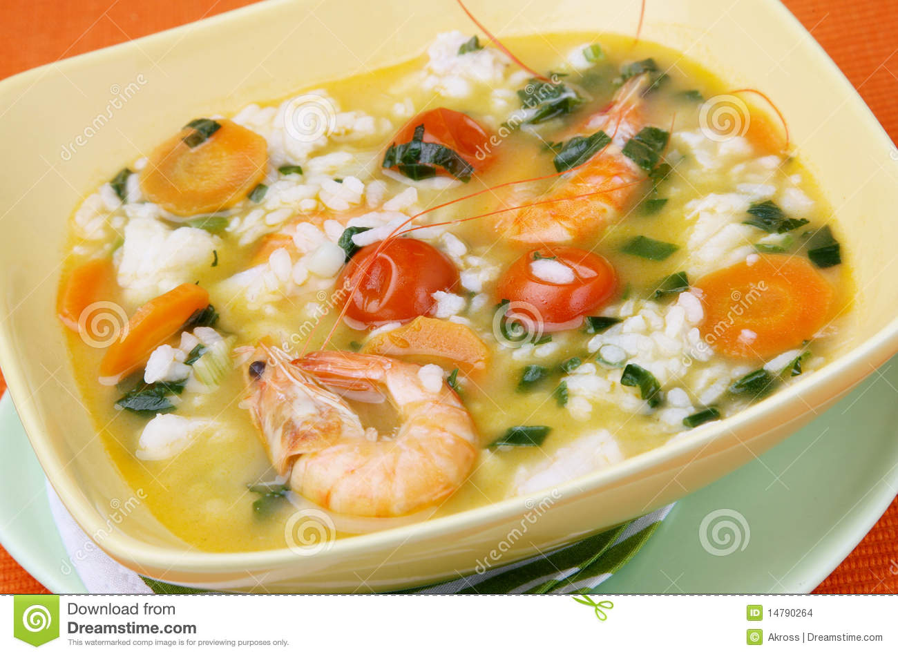 Fish Soup Stock Images - Image: 14790264