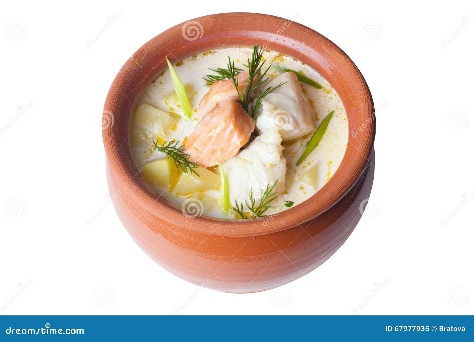 Уха по-фински со сливками рецепт с фото 8