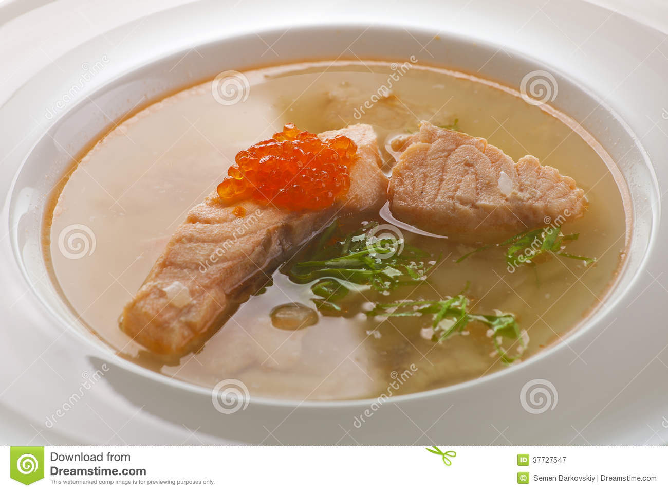 Fish Soup Royalty Free Stock Photography - Image: 37727547