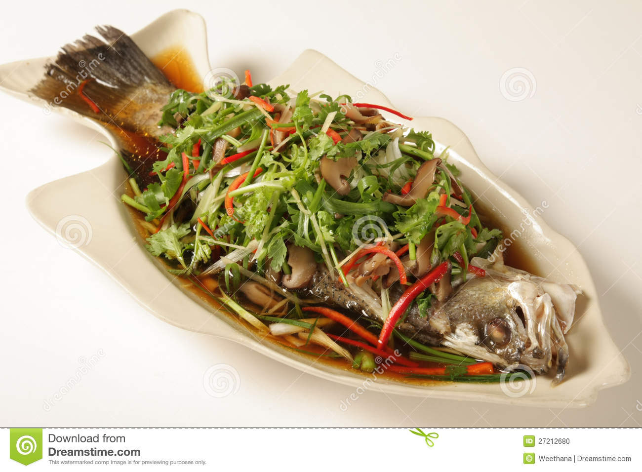 Fish with soy sauce stock photo image 27212680 for Soy sauce fish