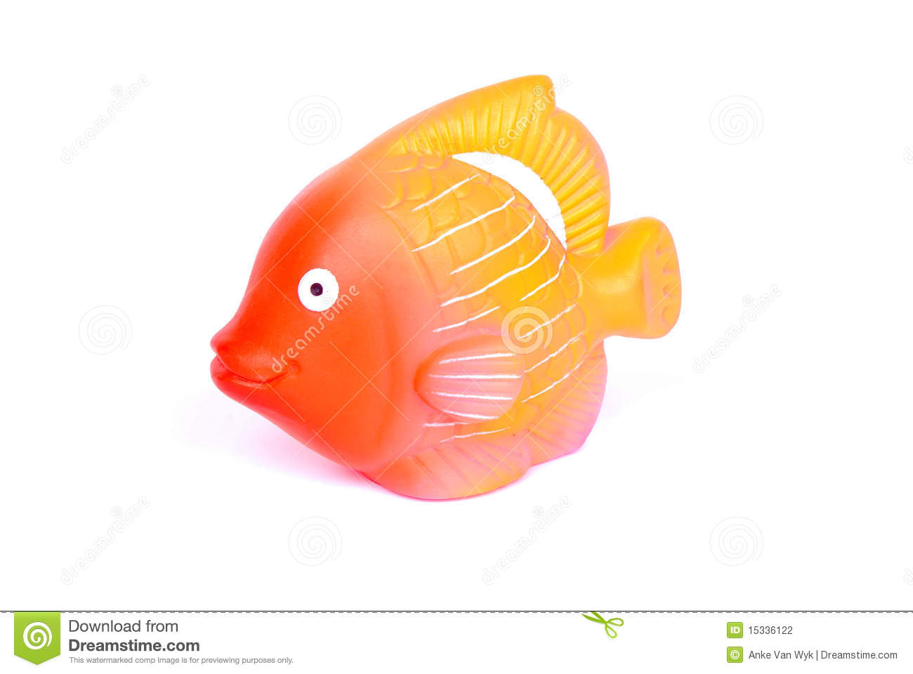 Fish squeaky toy stock photography image 15336122 for Rubber fish toy