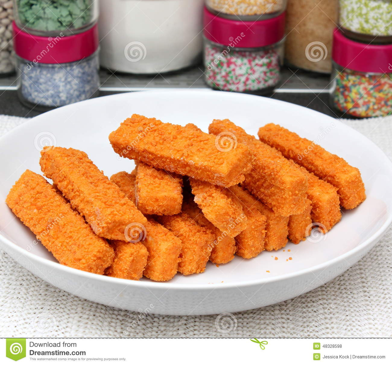Fish sticks stock image 21301297 for Best frozen fish