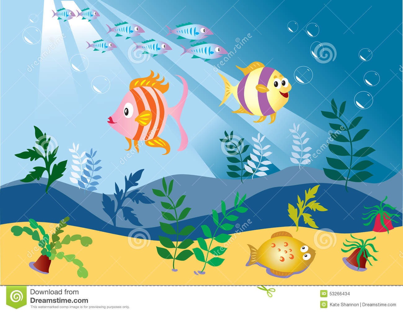 fish swimming in clip art animations n - HD 1300×1011