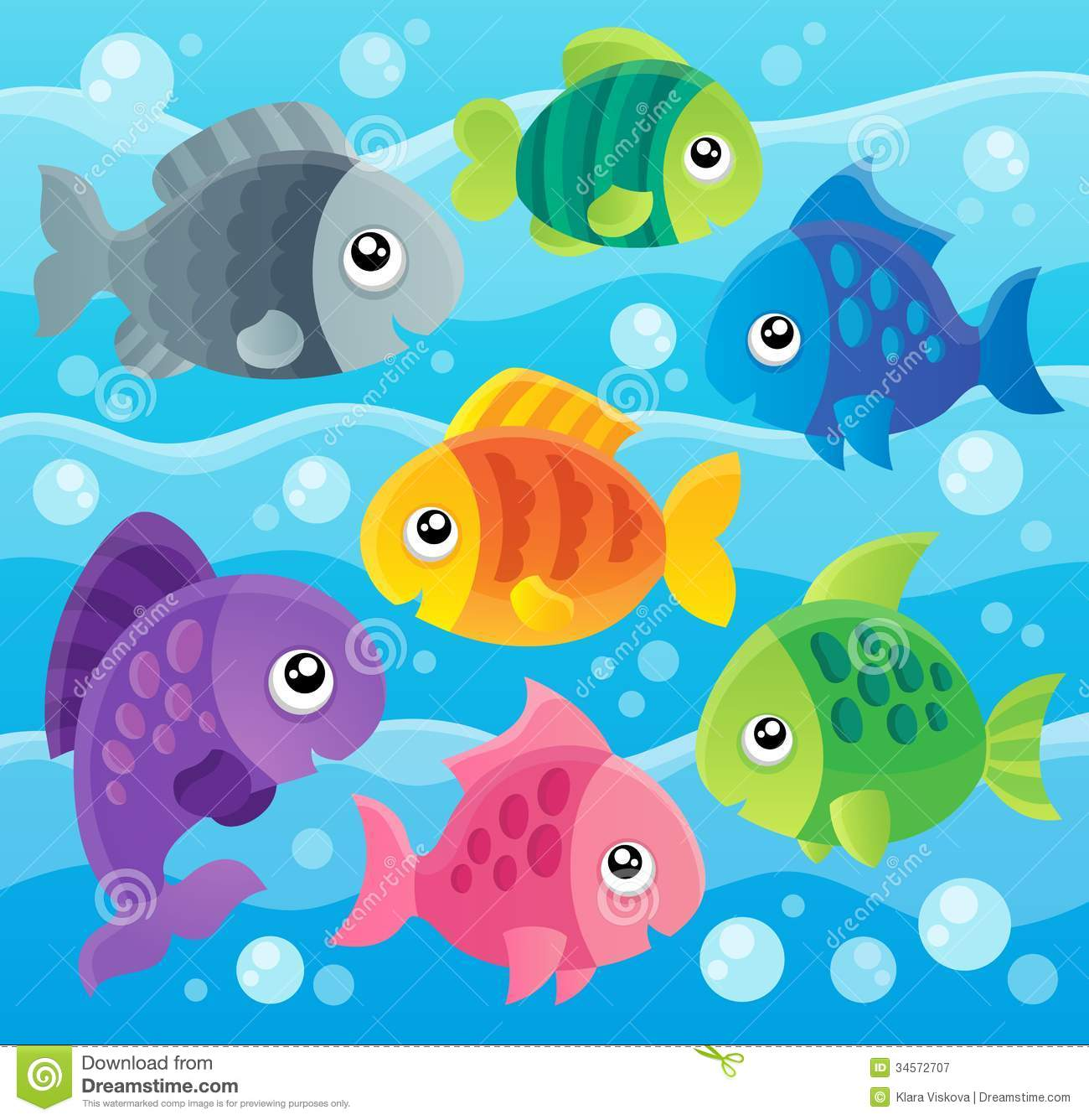Fish theme image 7 royalty free stock photography image for 7 fishes list