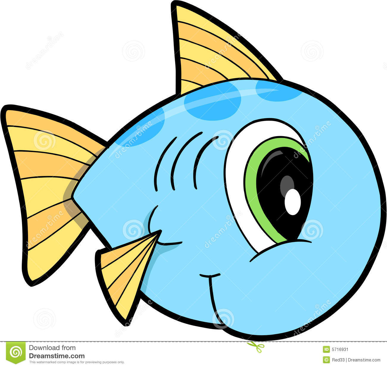 Fish Vector Illustration stock vector. Illustration of ...