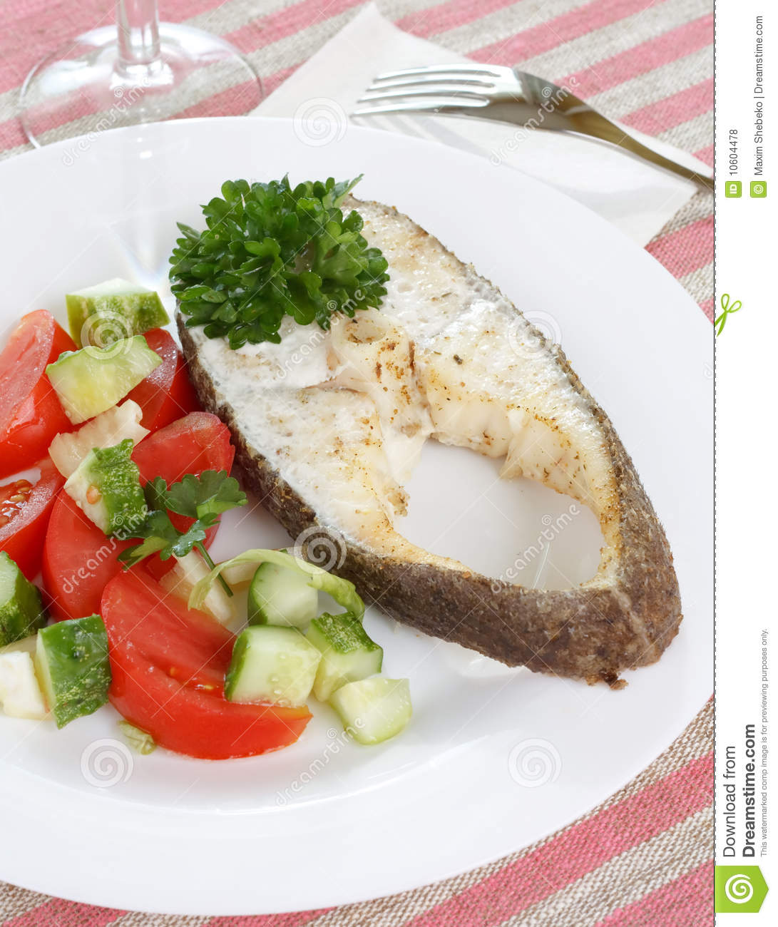 Fish with vegetables royalty free stock photos image for What vegetables go with fish