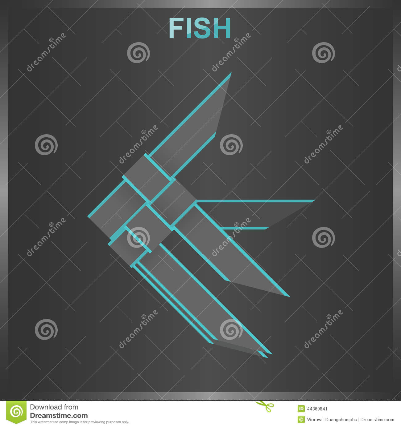 Fish weave stock vector illustration of tree together 44369841 fish weave ccuart Choice Image