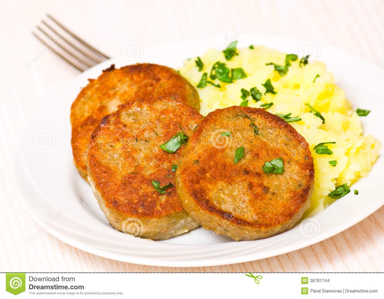 Fish And Mashed Potatoes Fish Cakes