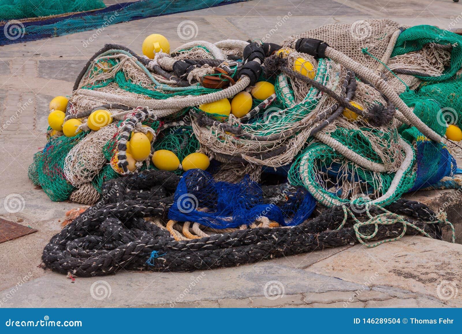 Fisher Net efter arbete