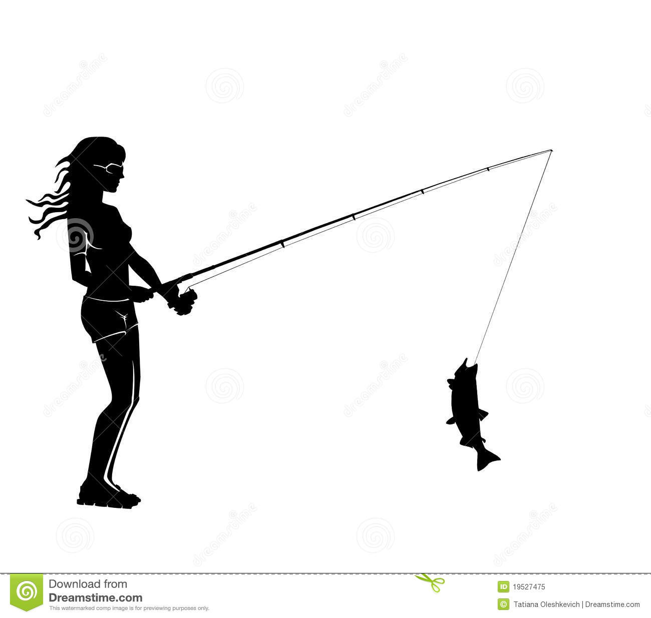 bass fisherman silhouette