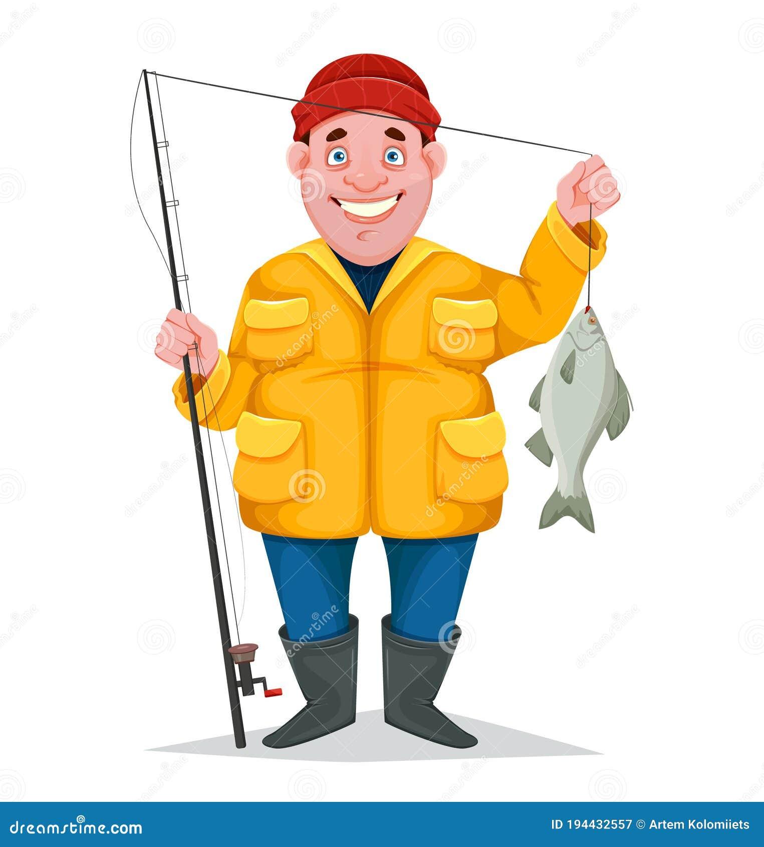 Caught Fish Stock Illustrations – 737 Caught Fish Stock Illustrations,  Vectors & Clipart - Dreamstime