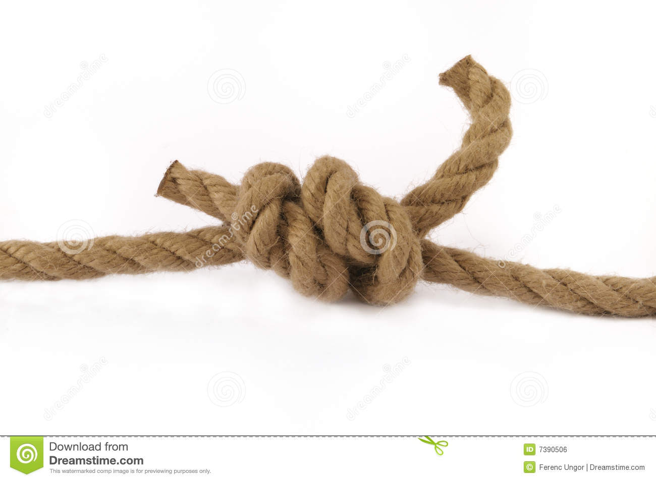 how to connect two ropes together