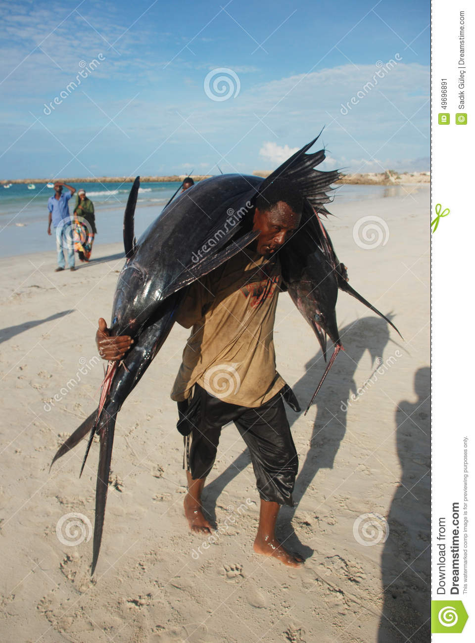 Fisherman in Somalia