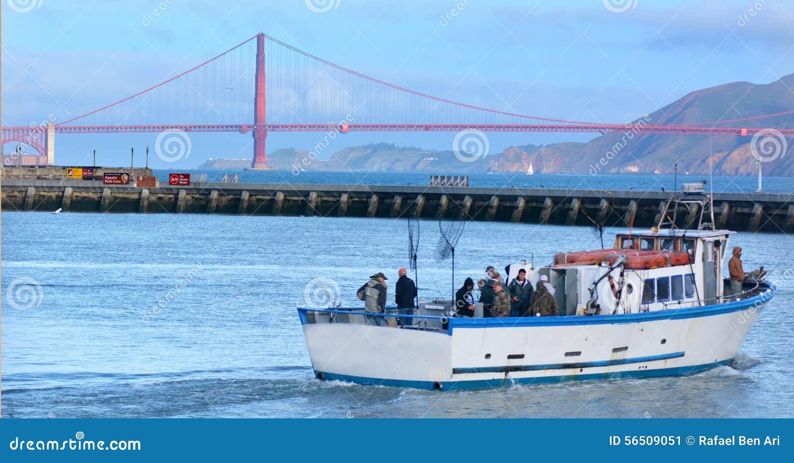 Fishermen on fishing boat in fisherman wharf in san for Sf bay fishing report
