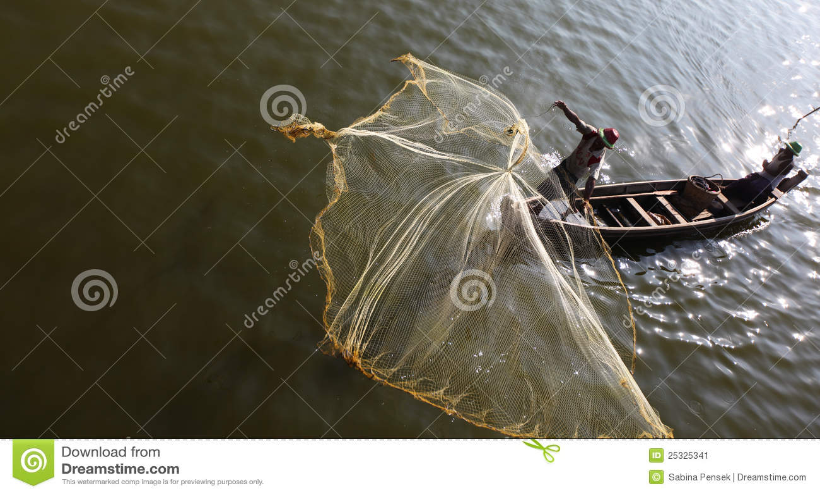 Fishermen on irrawaddy river throwing fishing nets for Throw nets for fishing
