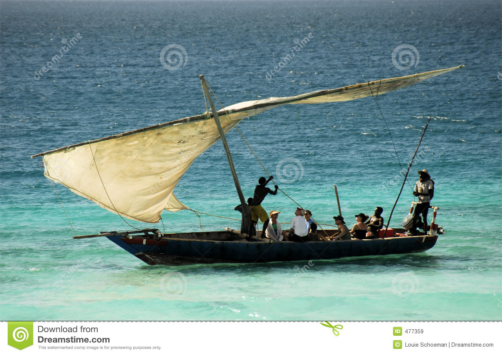 Fishermen on Zanzibar Island