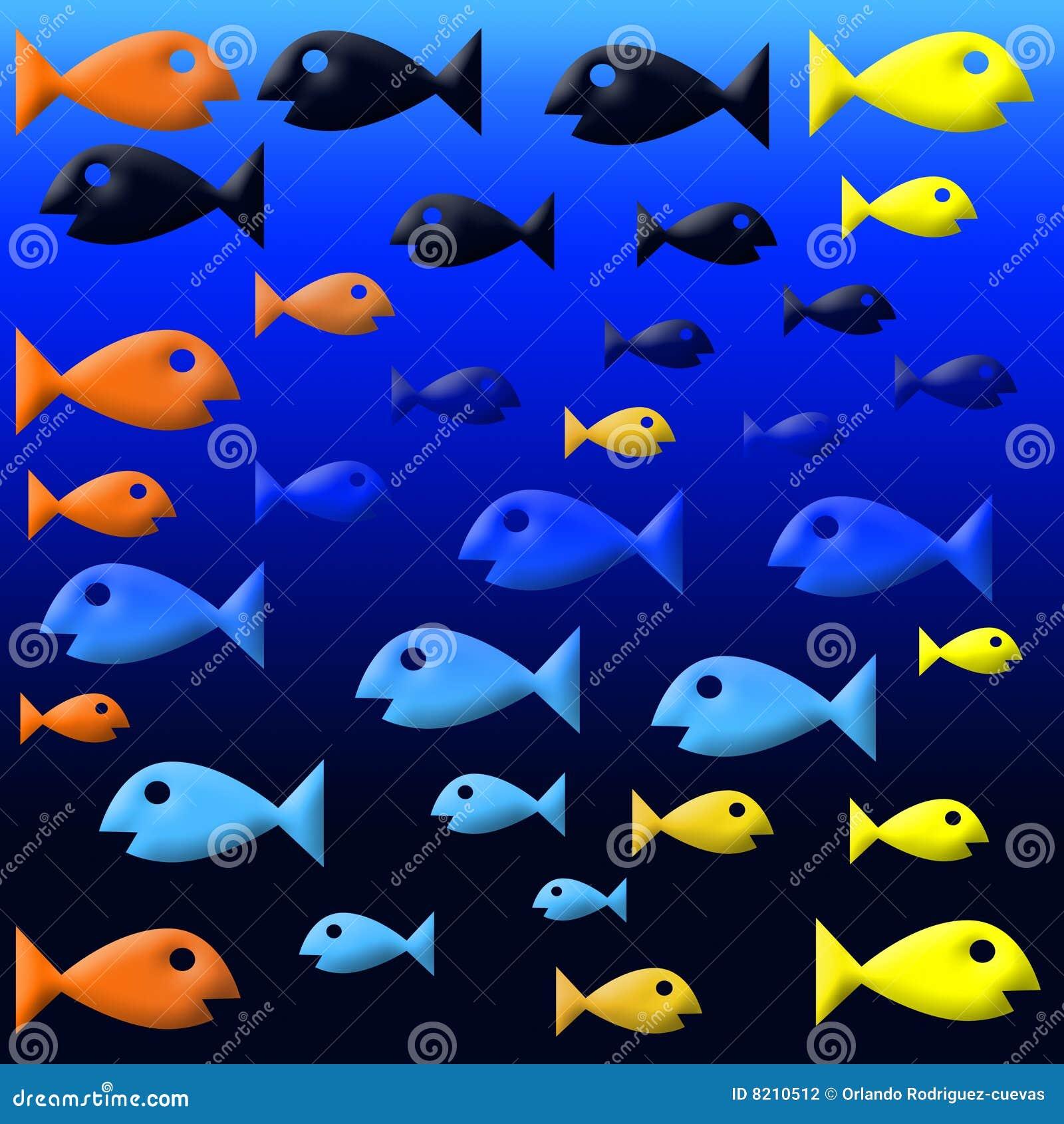 Fishies stock photography image 8210512 for Fish swimming backwards