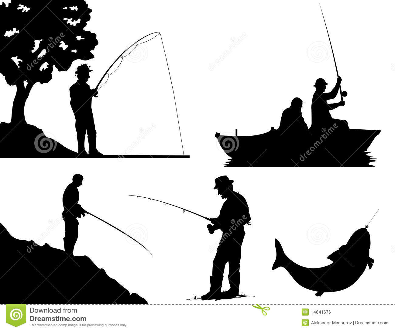 Fishermen Stock Illustrations – 467 Fishermen Stock Illustrations ...