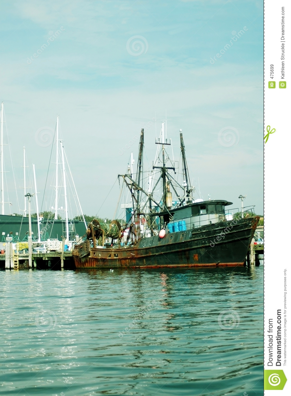 Fishing boat royalty free stock images image 475699 for Newport harbor fishing