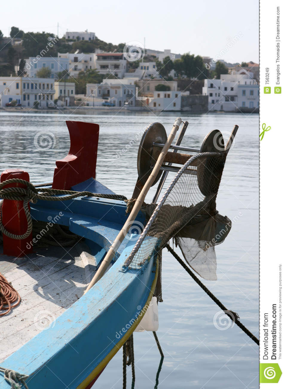 Fishing boat front royalty free stock images image 7563249 for How to not get seasick on a fishing boat