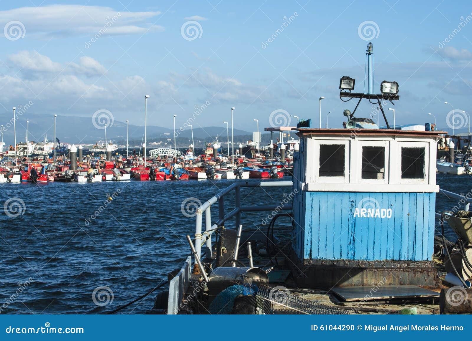 Illa Trol: Fishing Boat Editorial Image