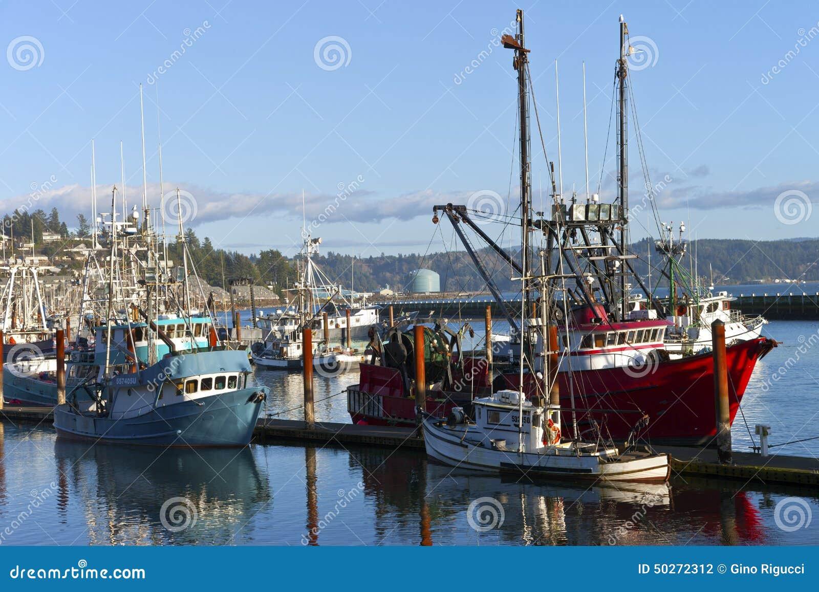 Fishing boat in newport oregon editorial photography for Newport oregon fishing