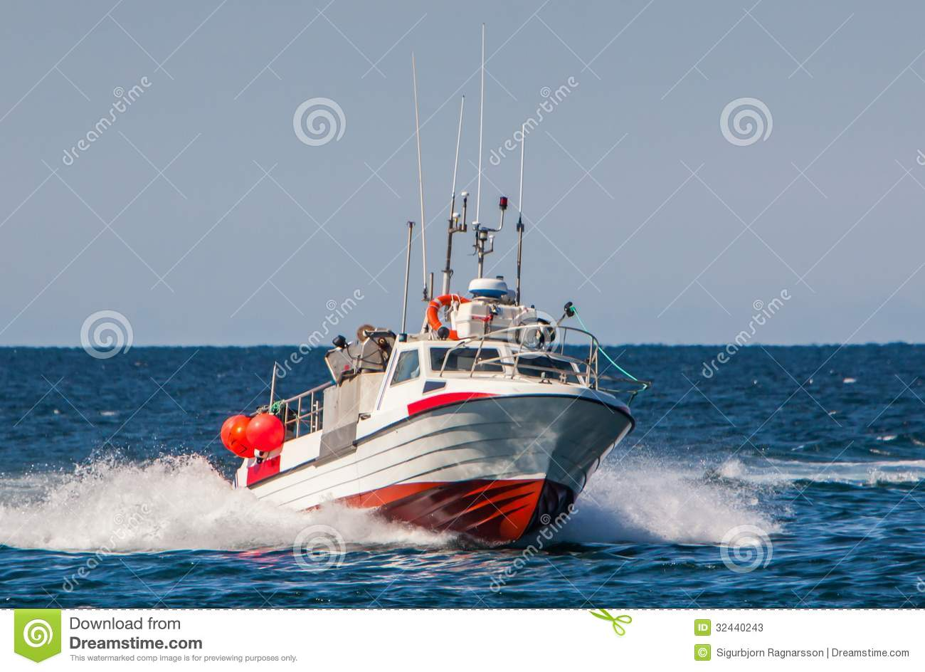 Fishing boat stock image image of atlantic boats for Offshore fishing boats