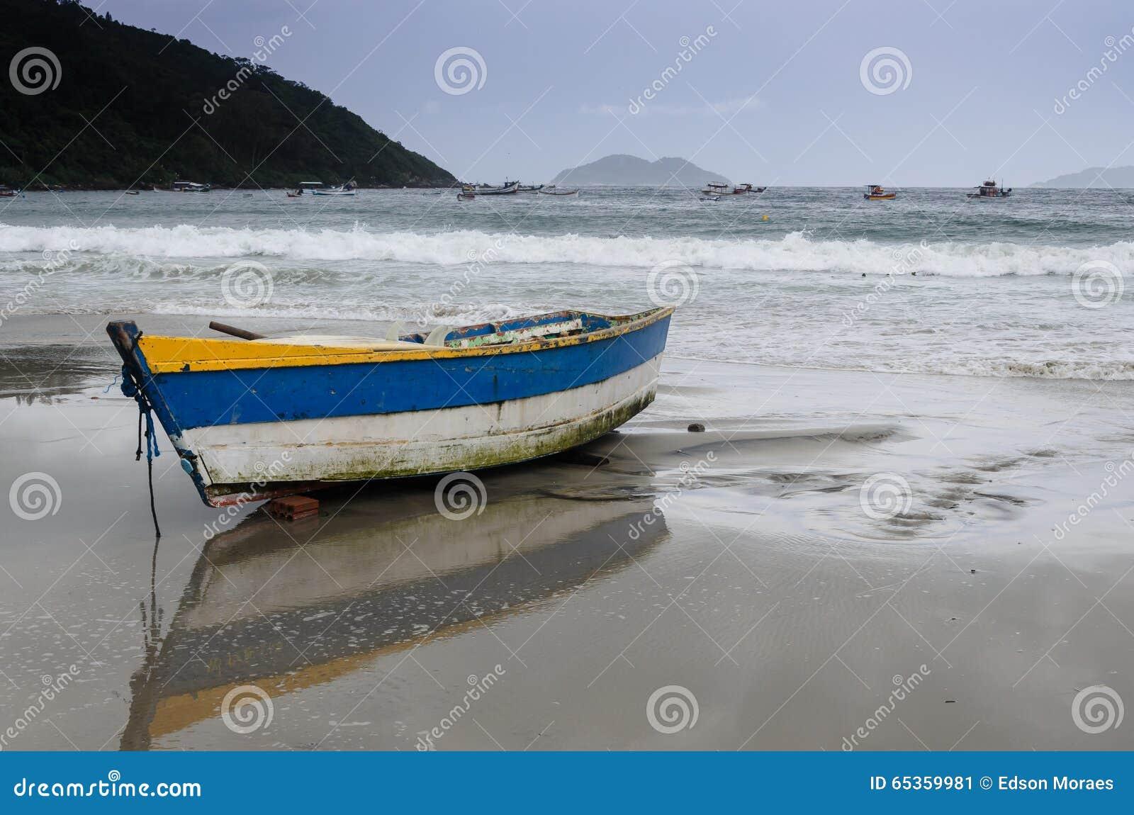 Fishing Boat Stock Photo - Image: 65359981