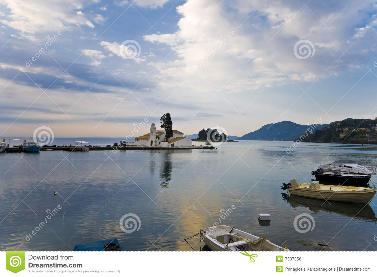Fishing boat port in greece royalty free stock image for Port a fishing