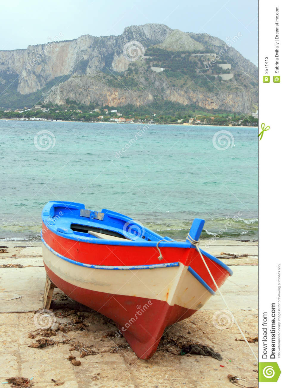 Fishing Boat On The Shore Stock Photos - Image: 3571413