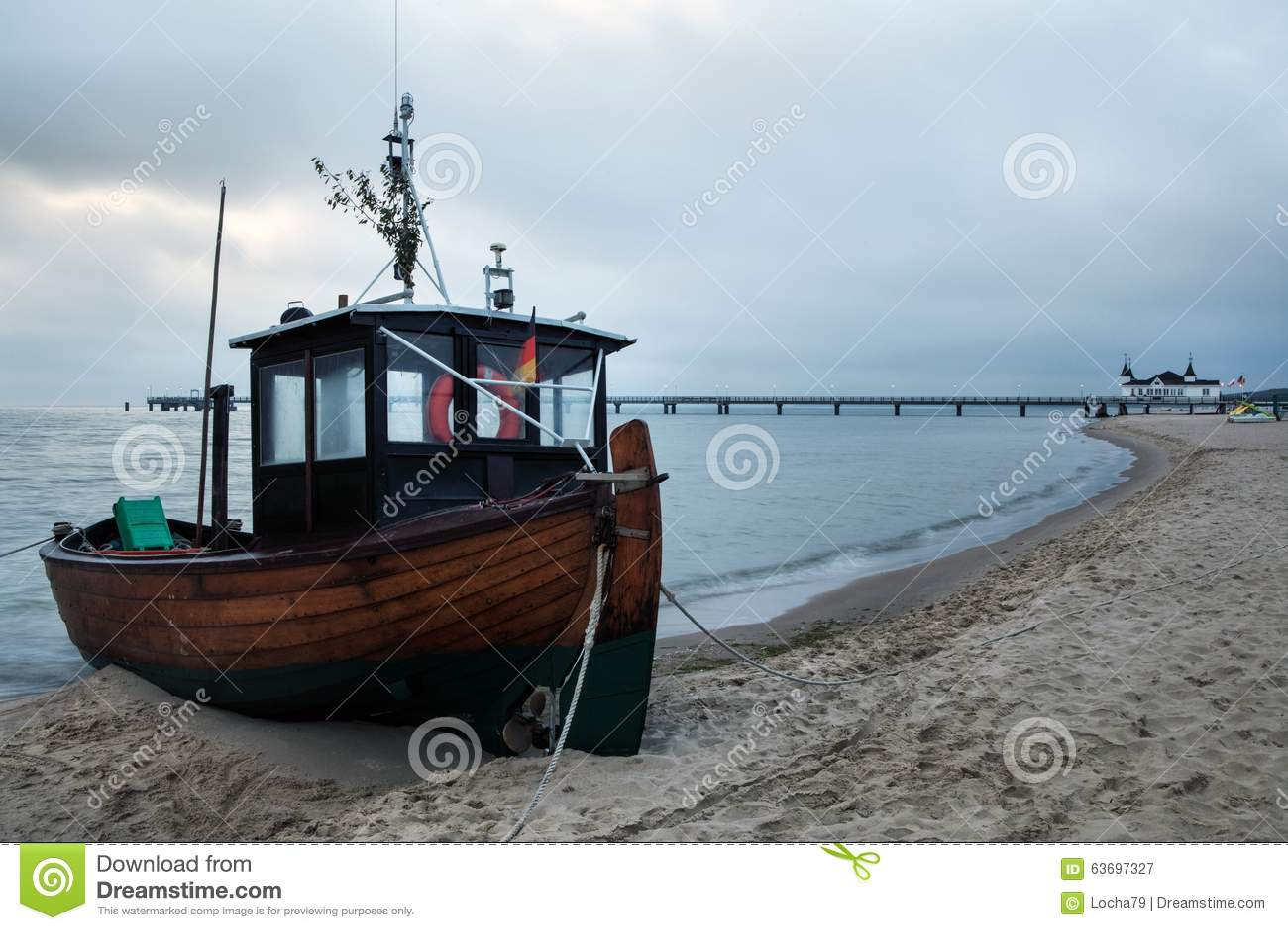 Fishing Boat Stock Photo - Image: 63697327
