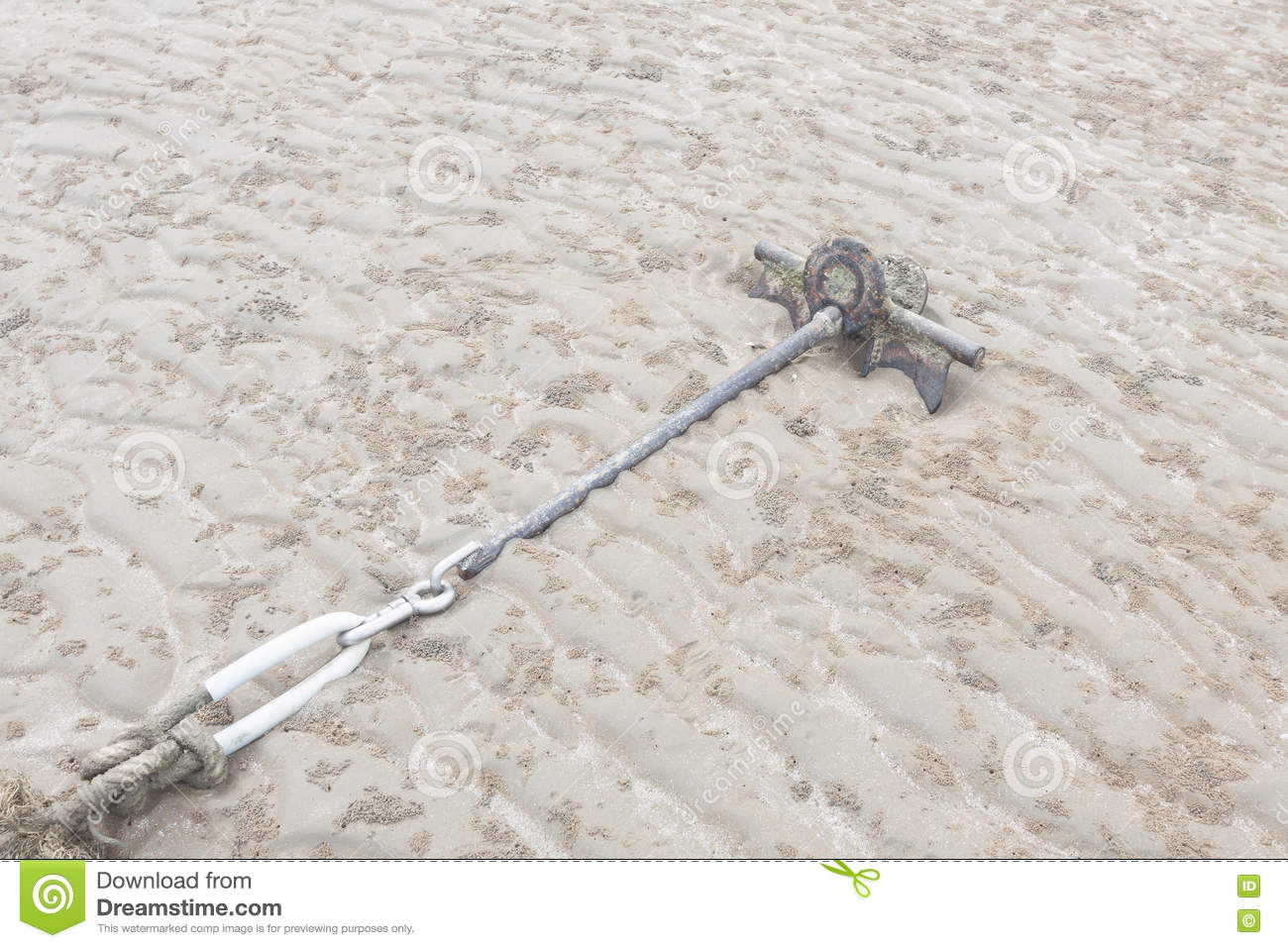 how to make a boat sand anchor