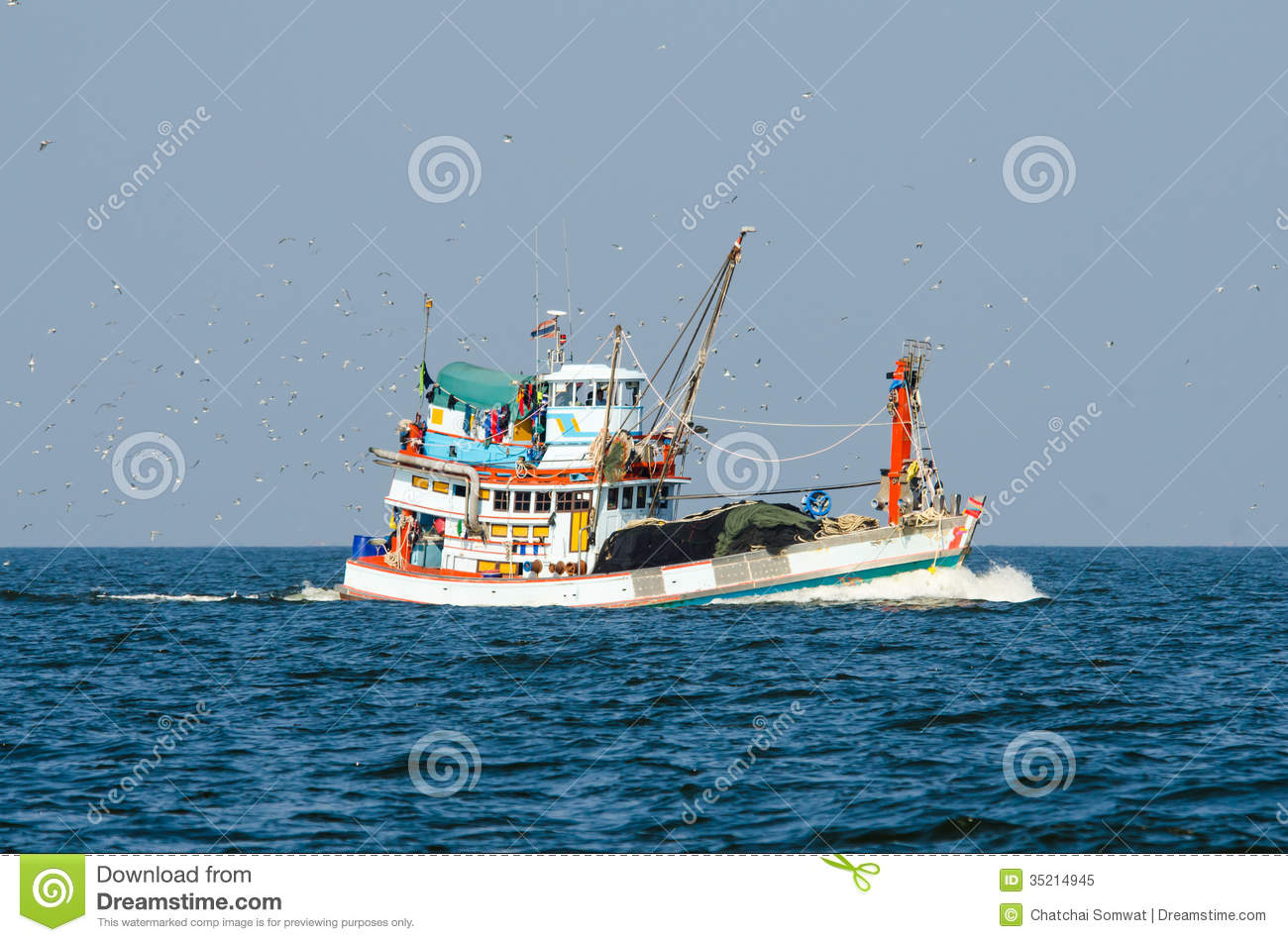 fishing boat trawler royalty free stock photo image 35214945