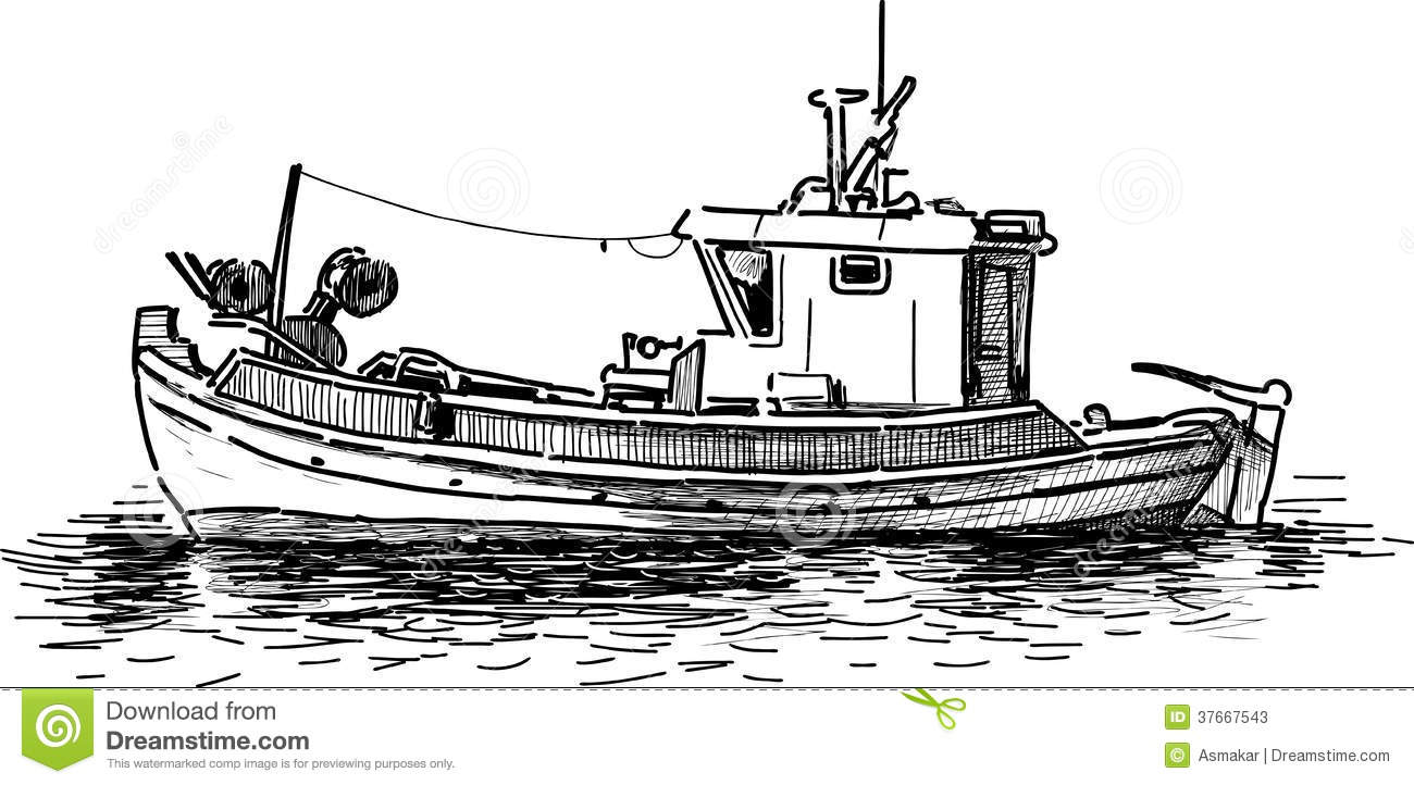 Fishing Boat Stock Photos - Image: 37667543