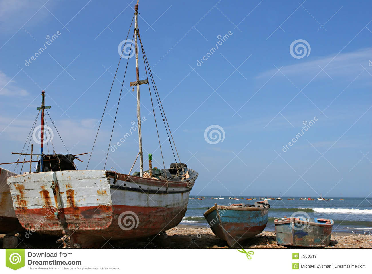 Fishing boats royalty free stock images image 7560519 for Free fishing boats