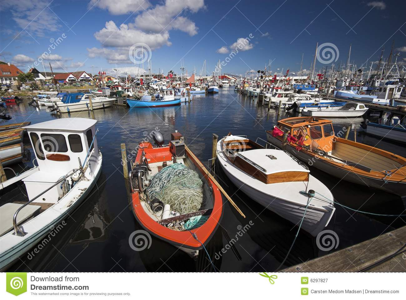 Fishing Boats All Over
