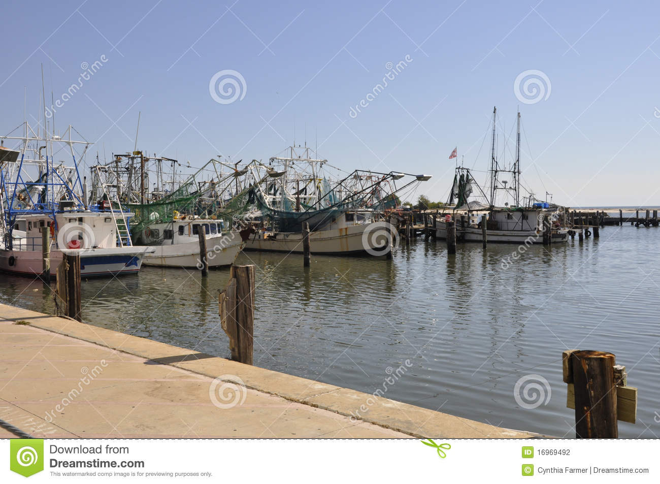Fishing boats in biloxi mississippi stock photography for Fishing in biloxi ms