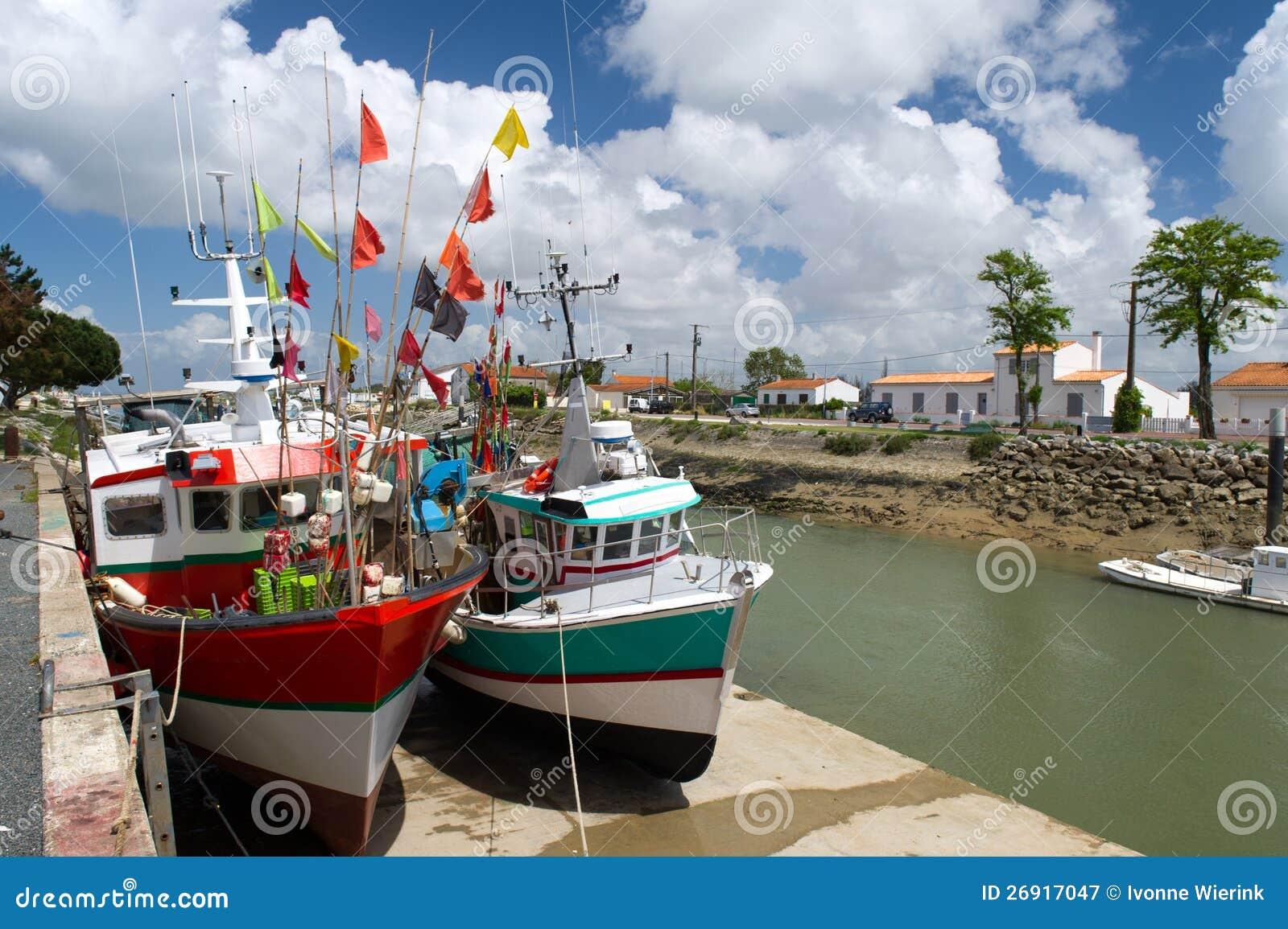 Fishing boats Boyardville France