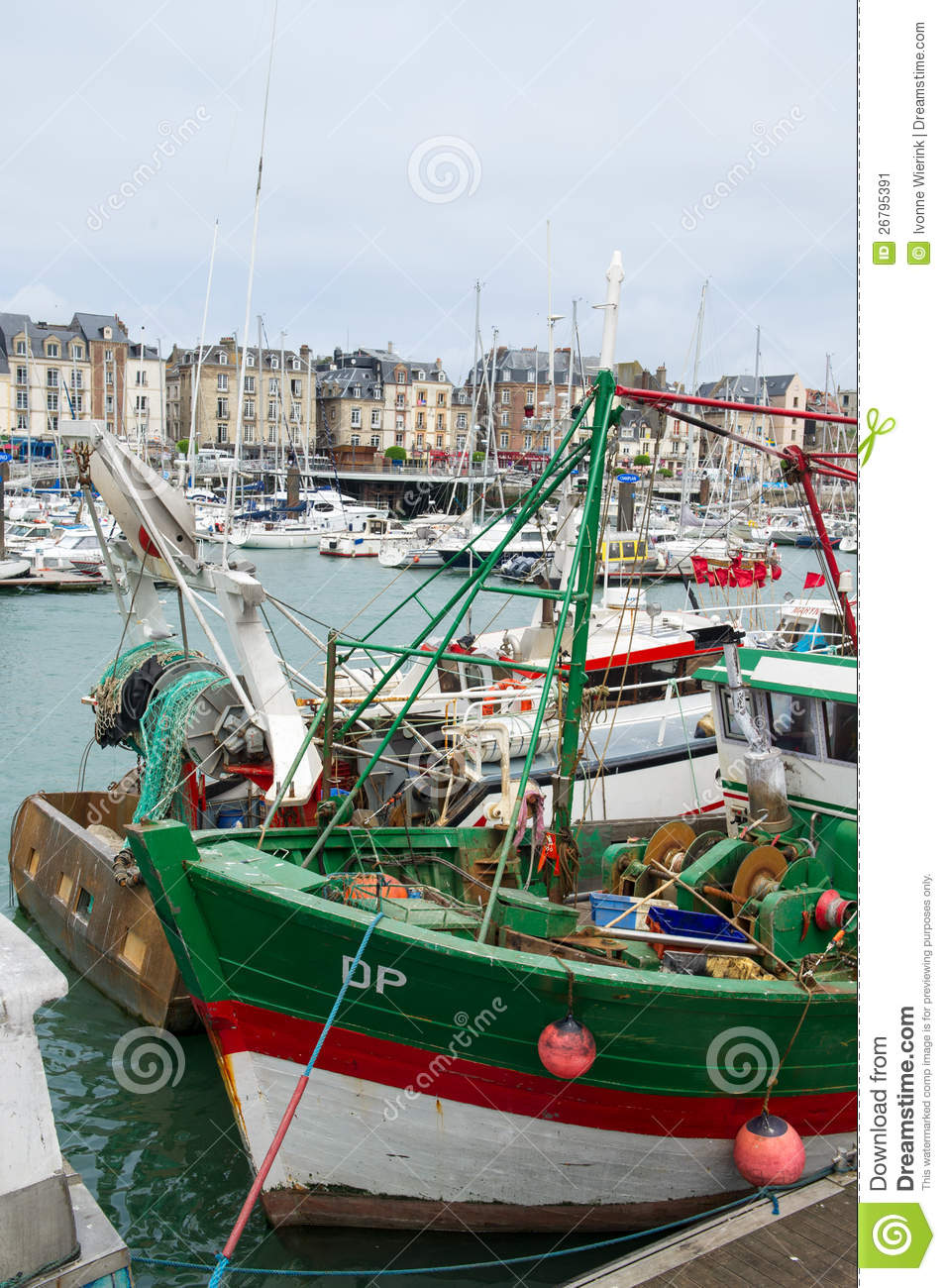 Fishing boats in France