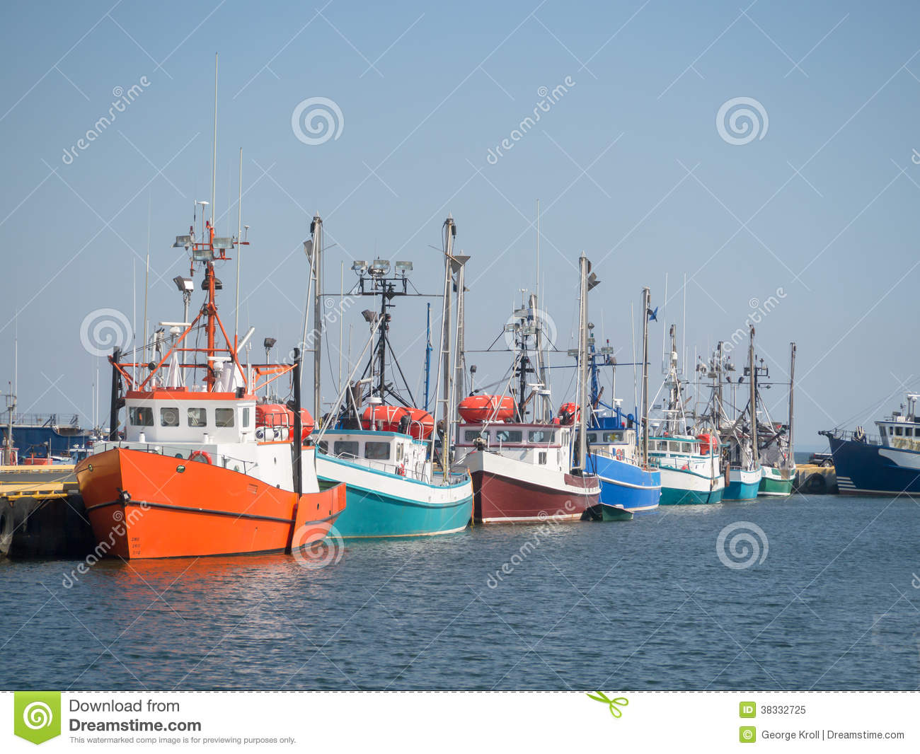Fishing boats in a row royalty free stock photo image for Fishing row boats