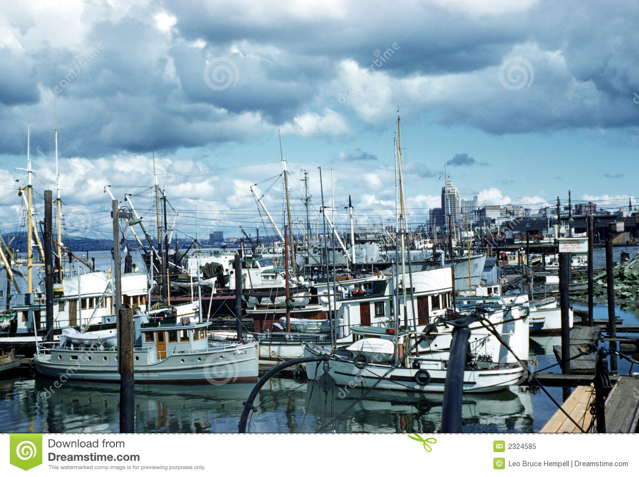 Fishing Boats Vancouver British Columbia Canada