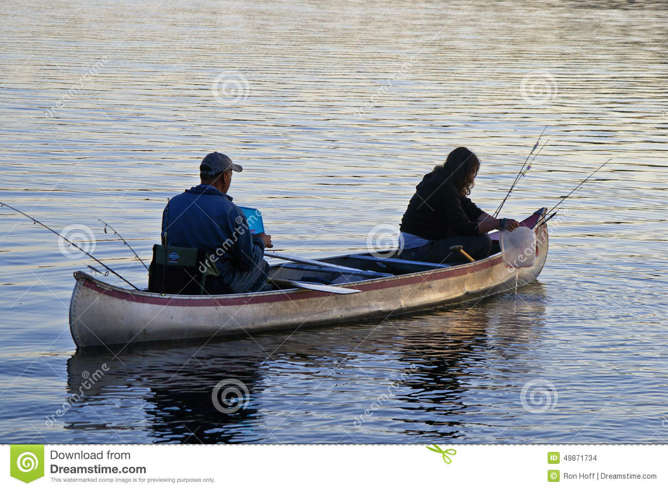 Fishing in the boundary waters canoe area editorial stock for Boundary waters fishing