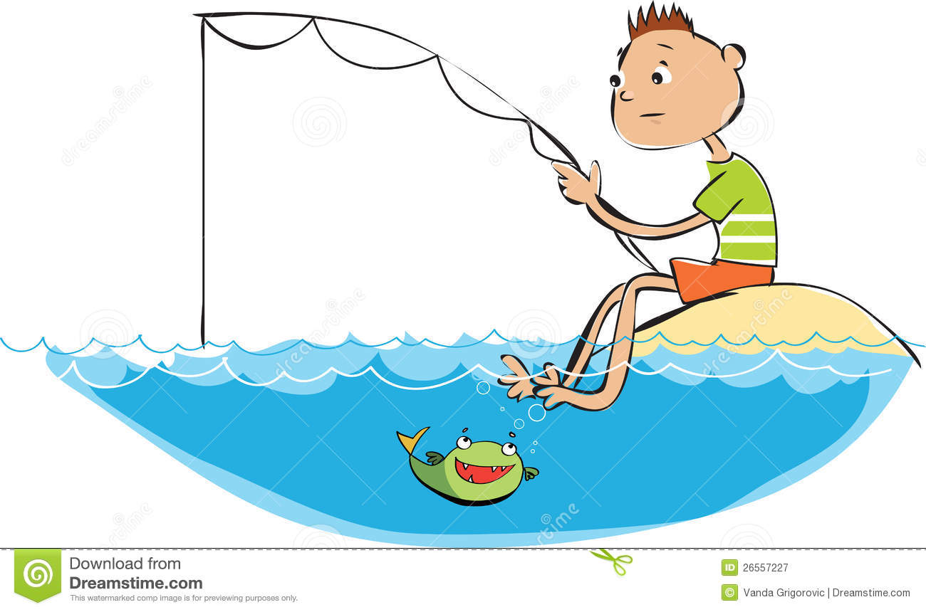 Fishing boy royalty free stock photography image 26557227 for Fishing times free